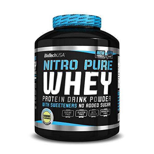 BioTech USA Nitro PURE Whey Caramel Cappuccino, 1er Pack (1 x 2.27 kg)