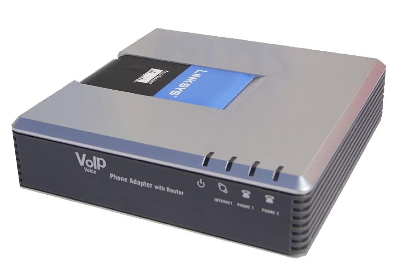 UNLOCKED LINKSYS PAP2T VOIP Phone Adapter