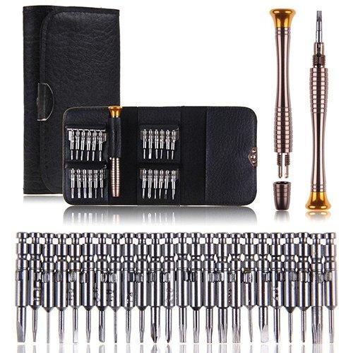 25en 1destornillador Set herramientas de reparación de apertura Kit para iPhone 65Samsung...