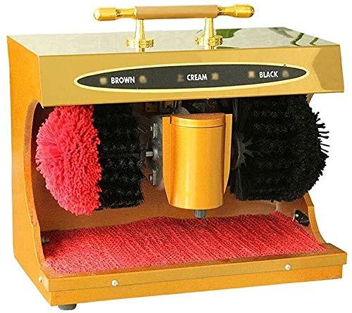 KUANDARMX Lustrador De Zapatos, Lustrador De Zapatos De Cuero De Inducción Pública Automática, Lustrador De Zapatos De Titanio para Uso Doméstico, A, 37x21x29cm