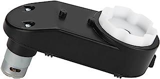 Akozon 12000-20000 RPMギアボックス + 6V / 12Vモータ キッズパワーホイール用ギアボックス付き電動モーター キッズキャリッジ用ユニバーサルRS390ドライブエンジン(6V18000ターン)