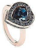 Guess donna-anello J, in acciaio inox cristallo (Rosa/Blu)