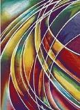 Paco Home Teppich Modern Designer Teppich Bunter Farbmix Gemustert Mehrfarbig, Grösse:120x170 cm - 2