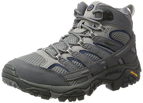 Merrell Men Moab 2 Mid GTX High Rise Hiking High Rise Hiking Boots, Grey (Castlerock), 9 UK (43.5 EU)