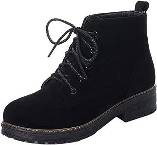 MisaKinsa Women Causal Autumn Short Boots Comfortable Flat