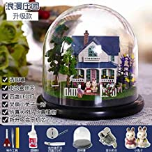 VDT Music Box DIY Wooden Music Box Music Box Sky City and Friends Send Christmas Ornaments