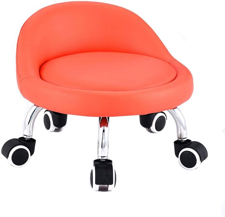 QFdd 23cm Squatting On The Floor with Chairs Small Wheels Scroll Large discharge sale Max 84% OFF