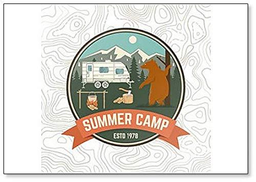 Magnete da frigo Summer Camp