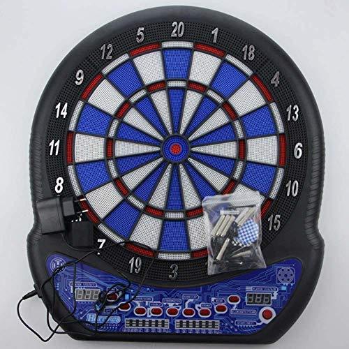 Funny LCD Juego de Dardos Profesional Electrónico Tablero de Dardos Indicador de Puntuación con 6 Dardos Toy