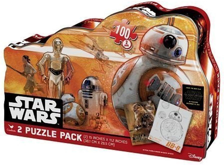 Star Wars  Episode VII The Force Awakens 2pk. BB8 Puzzle Tin