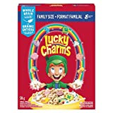 LUCKY CHARMS Cereal Family Size, 526 grams