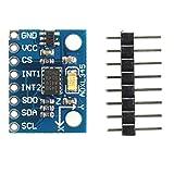 Módulo ADXL345, sensor de aceleración, acelerómetro de 3 ejes, acelerómetro, I2C, SPI, sensor G...
