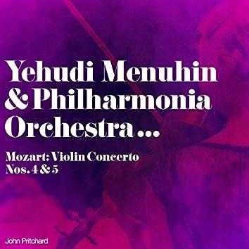 Yehudi Menuhin & Philharmonia Orchestra... Mozart: Violin Concerto Nos. 4 & 5