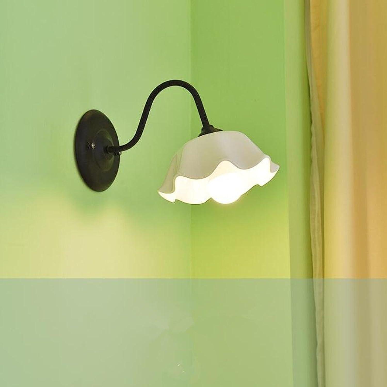 BID Modern minimalistischen Korridor Balkon Restaurant Schlafzimmer Bett Keramik Wandleuchte