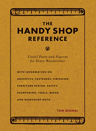 Price comparison product image The Handy Shop Reference: Useful Facts and Figures for Every Woodworker