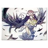 Tapiz Overlord: Albedo, Anime Tapestry Colorido Psychedélico Decoración de la alfombra cubierta de la pared Sala de estar Habitación Tapicería Accesorios Tapas de pared ( tamaño : 150*200cm )