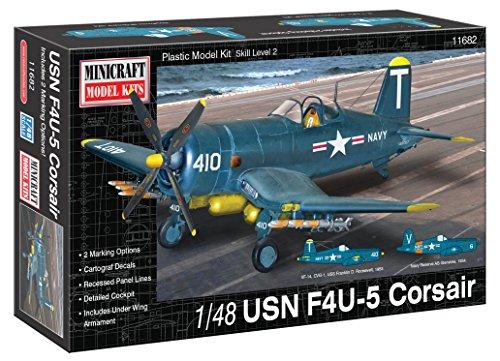 Minicraft Models Dempsey Designs modèles 1 : 48 kit Échelle Modèle USN F4U-5 Corsair