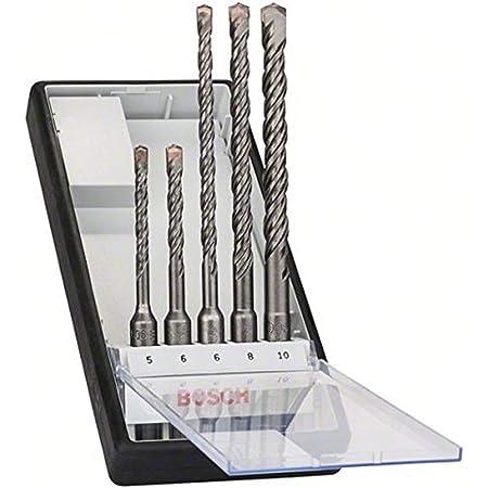 Bosch Professional 5tlg. Robust Line Hammerbohrer SDS Plus-5 Set (für Beton, Zubehör Borhammer)