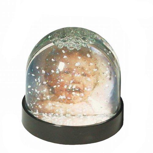 Weihnachts-Schneekugel mit Glitter-Bilderrahmen für Fotos, von Dorr
