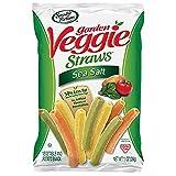 Sensible Portions Garden Veggie Straws, Sea Salt, Snack Size, 1 Oz (Pack of 24) (HG30057)