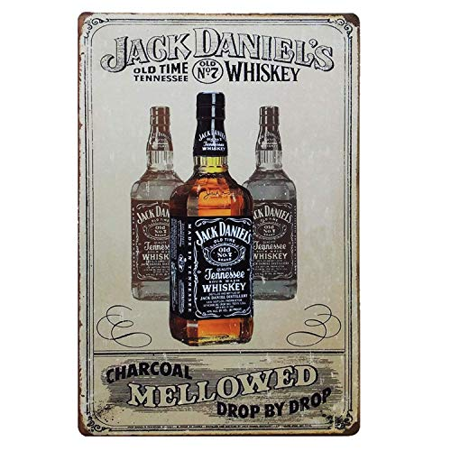 Jack Daniels Metallwand Zeichen Blechschilder Warnung hängen Vintage Kunst Folie Poster Band Malerei Promi Bar Cafe Garten öffentliches Geschenk