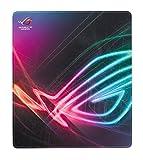 Asus ROG Strix Edge vertikales Gaming Mauspad (optimierte Stoffoberfläche, vollfarbige Nähte, rutschfeste Unterseite),400x450x2 mm