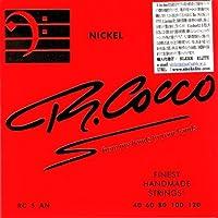 R.Cocco(リチャードココ) ベース弦 5弦用 RC5A N (ニッケル .040-.120) 【国内正規品】