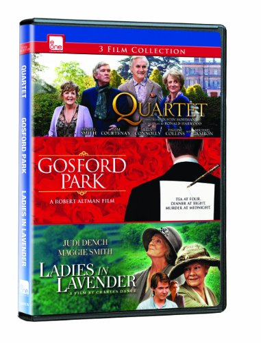 Maggie Smith: Quartet / Gosford Park / Ladies in Lavender (Triple Feature)