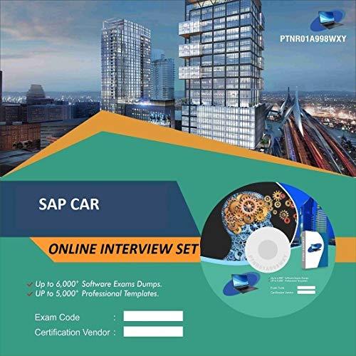 SAP CAR Complete Unique Collection Interview Video Training Solution Set (DVD)