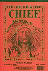 Big Chief Writing Tablet Primary Grades Springfield 8 X 12 Inch 48 Sheets