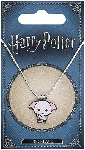 Harry Potter Cutie Collection Necklace & Charm Dobby (silver plated) Carat Shop
