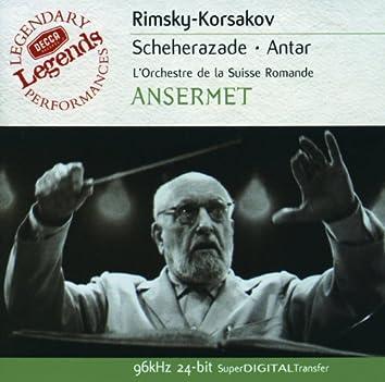 Rimsky-Korsakov: Scheherazade; Antar