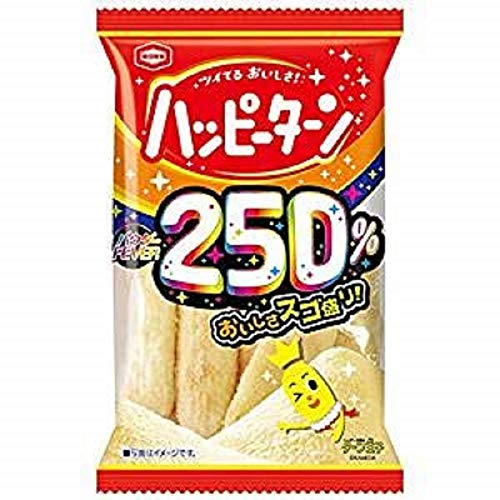 亀田製菓 パウダー250%ハッピーターン 50g×3袋