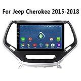 SADGE NAV Doppel-DIN-Autoradio-Empfänger GPS-Navigation Head Unit 2 Din 9 Zoll-Auto-Stereo-Autoradio Android - Anwendbar für Jeep Renegade 2016-2018, Bluetooth Dash Head Unit