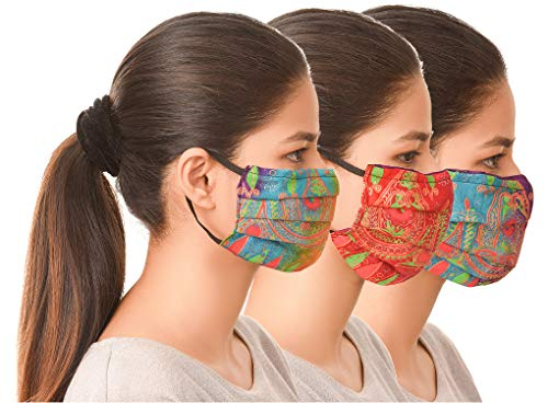 Unisex-Set-Of-Reusable-Protection-Washable-Face-Mask-Facial-Skin-Mouth-Filter-Option-Nose-Bridge-Anti-Smoke-Breathable-Pollution-Motorcycle-Bike-Sport