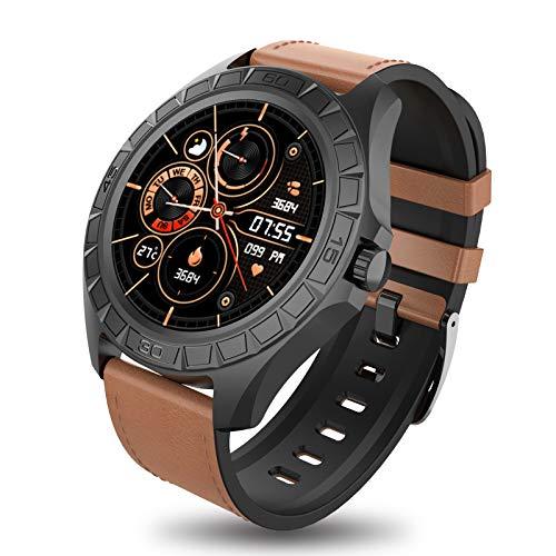 BIGCHINAMALL Reloj Inteligente Hombre, Smartwatch de Pantalla Táctil Completa, Reloj Deportivo Hombre Pulsómetro, Reloj Inteligentes Pulsera Actividad(Negocio)