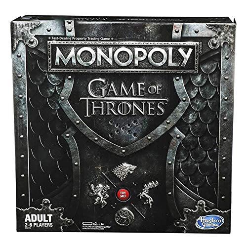 Game of Thrones-Monopoly Speciale Edizione Musicale Gioco Giocatore Grado Trone Adulti Party Game Strategy Game Family Viaggi Gioco Gift Perfetto