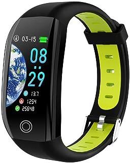 HBBOOI Impermeable del Deporte del Reloj Inteligente 1,14 Pulgadas de Pantalla táctil Control de Actividad con el sueño del Ritmo cardíaco del Monitor/cámara remota Inteligente Pulsera
