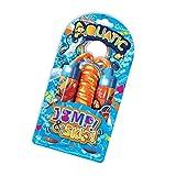 Jump & Skip - Acuático de Deluxebase. Cuerda de Saltar con diseño de océano y pez Payaso para niños. Los niños se divertirán Mientras se ejercitan con Esta Fabulosa Cuerda con diseño de Animales