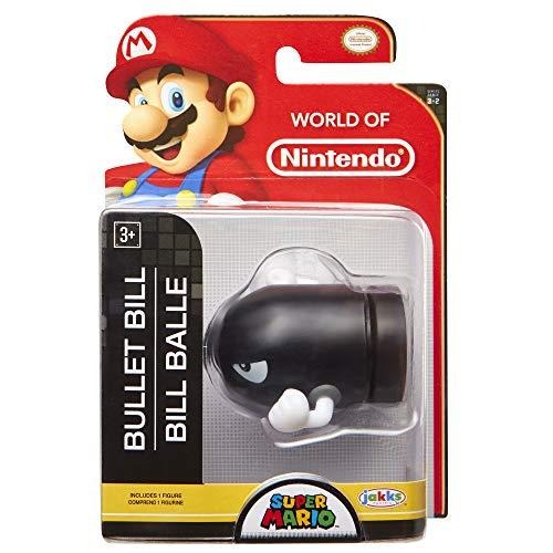 World of Nintendo Super Mario 2.5' Bullet Bill Mini Figure