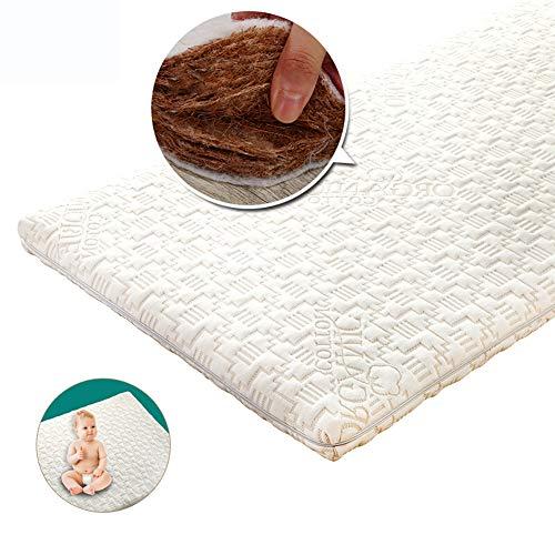 LYXCM Baby Matratze, Kern Wasserdicht Standard Kleinkind Babybett Matratze Leichte Hypoallergene Design