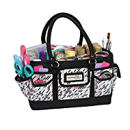PREMIUM CRAFT CADDY - Everything Mary organizer tote's are made from strong durable polyester ROOMY CRAFT TOTE - This art tote bag includes 17 storage pockets for scrapbook, crafting & more PORTABLE SUPPLY TOTE - This large craft tote bag lays flay &...
