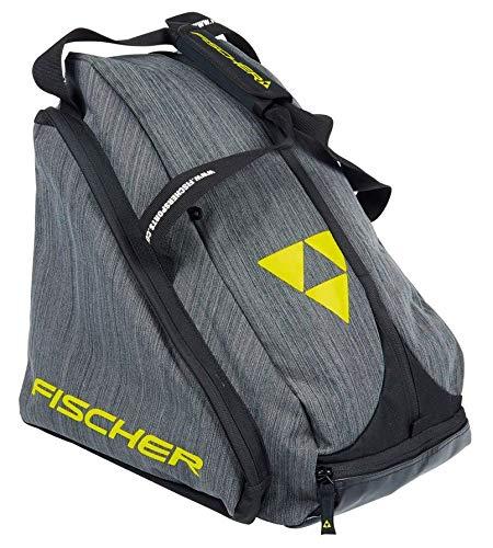 FISCHER Unisex– Erwachsene, schwarz/grau Skibootbag Alpine Fashion, OneSize