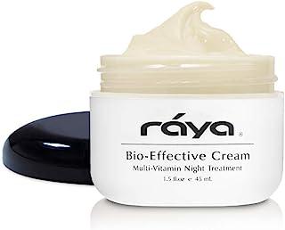 RAYA Bio-Effective Cream (403) | Multi-Vitamin, Anti-Aging, and Moisturizing Facial Night Cream for All Non-Oily Skin | Re...