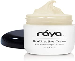 RAYA Bio-Effective Cream (403) | Multi-Vitamin, Anti-Aging, and Moisturizing Facial Night Cream for All Non-Oily Skin | Revitalizing, Regenerating, and Calming | Helps Reduce Fine Lines and Wrinkles