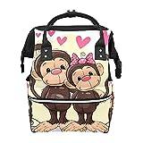 Multifunción bolsa de pañales notas musicales árbol impermeable momia mochila maternidad viaje pañal bolsas durable elegante bolso de hombro
