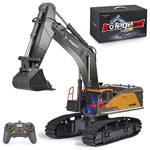 kolegend Remote Control Excavator Toy...