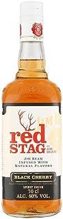 Jim Beam Bourbon Red Stag Black Cherry 70cl - Packung mit 6