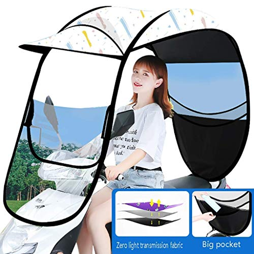 Qazxsw General Battery Bicycle Windshield, Electric Car Sunshade Shed, Scooter Rain And Waterproof Cover, Scooter Sun Visor, Used To Shield The Wind And Rain From The Sun