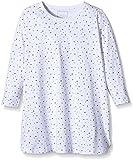 NAME IT Baby-Mädchen NITNIGHTGOWN M G NOOS Nachthemd, Mehrfarbig (Bright White), 92